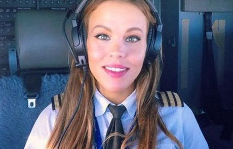 Najbolj seksi pilotka na svetu, ki živi čisto blizu nas, postala prava senzacija