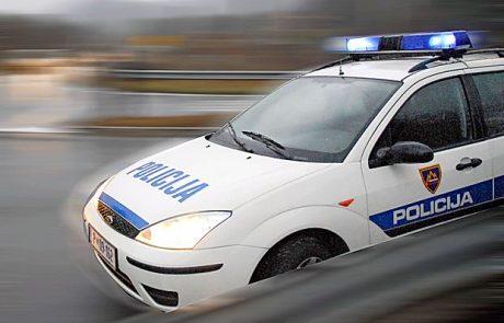 V prometni nesreči sta bila udeležena dva BMW-ja