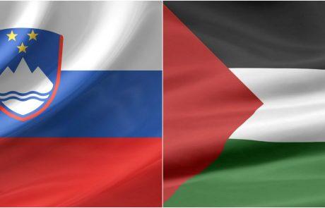 MZZ pripravlja teren za slovensko priznanje Palestine