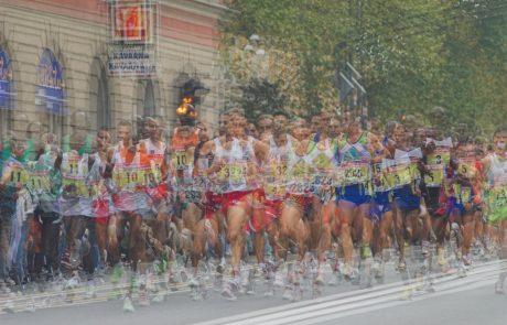 VOZNIKI, NE SPREGLEJTE: Te ceste bodo zaradi ljubljanskega maratona zaprte