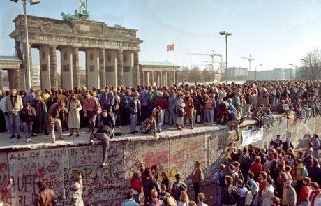 Danes mineva 27 let od padca berlinskega zidu