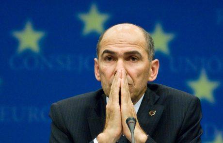 Evropska komisija dala košarico Janezu Janši