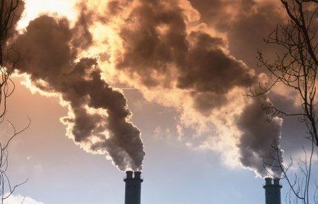 Zaskrbljujoče: Koncentracija ogljikovega dioksida v ozračju rekordno visoka