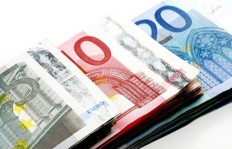 Območje evra lani s 6,8-odstotnim padcem BDP