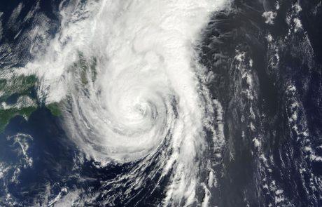 Zaradi tajfuna na Japonskem odpovedali več sto letov