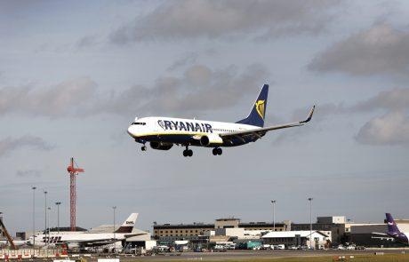 Ryanair bo v začetku jeseni zmanjšal število načrtovanih letov, če odhajate na dopust preverite