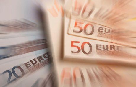 Državni proračun januarja s 7,6 milijona evrov presežka