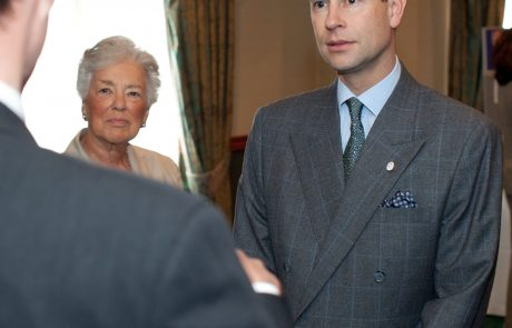 Pahor obisk v Veliki Britaniji začel s srečanjem s princem Edwardom