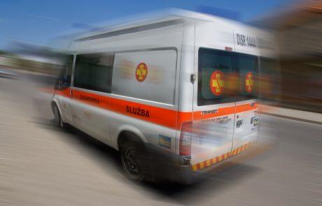 Pijani Slovak ukradel reševalno vozilo, ustavili so ga šele streli policije
