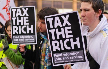 Znižanje davkov najbogatejšim ne prinese praktično nobene koristi za družbo in gospodarstvo, je pokazala mednarodna študija