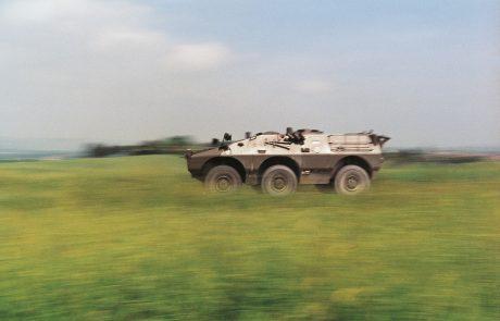 Slovenska vojska načrtuje nabavo 14 oklepnikov