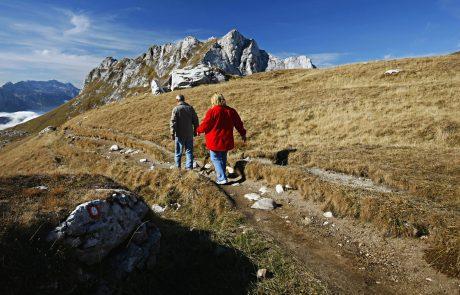 Reševalci v času epidemije odsvetujejo izlete v gore
