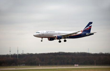 Ruski prevoznik Aeroflot obnavlja lete z ljubljanskega letališča