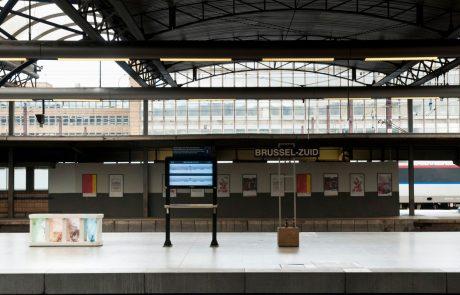 Policija zaradi eksplozije evakuirala centralno postajo v Bruslju
