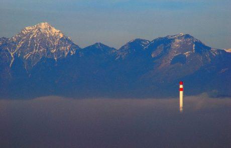 Danes in jutri zrak v Sloveniji močno onesnažen s PM10 delci