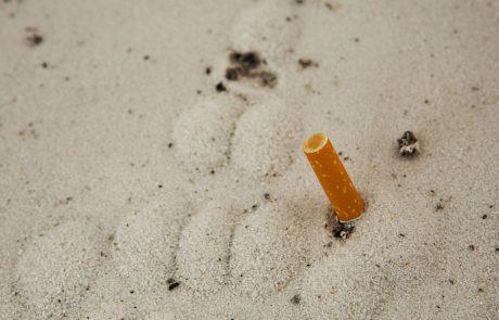 Belgijci iznajdljivo nad cigaretne ogorke na plažah