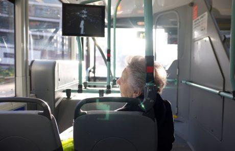 Od poletja dalje bo javni potniški promet za upokojence brezplačen
