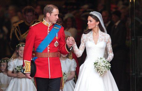 """""""Povsem brez sramu"""": Zdaj vemo, čigavo poročno obleko je Kate Middleton v celoti kopirala"""