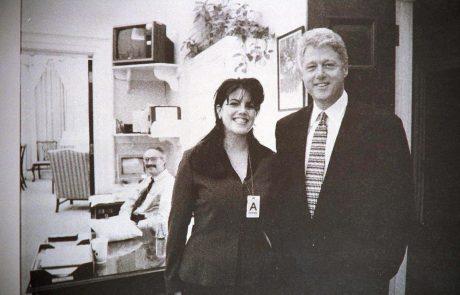 Ameriška televizija pripravlja serijo o impeachmentu z Monico Lewinsky