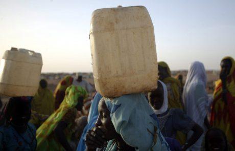 V Darfurju slovenska donacija prvič pomagala do vode