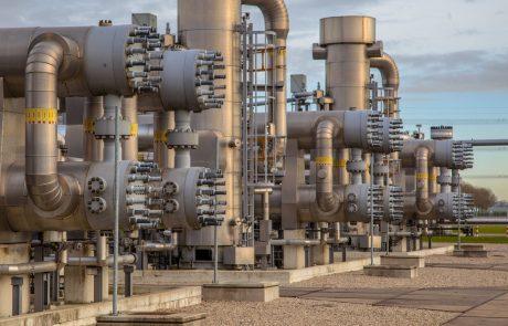 Največje nahajališče zemeljskega plina v EU počasi usiha
