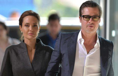 Angelina Jolie ne da miru: Z novimi očitki nad Brada Pitta