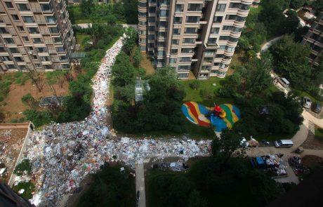 Ogabno: Lahko verjamete, da so mesto tako preplavile smeti?