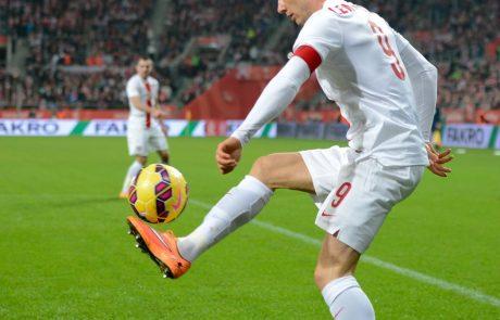 Lewandowski izbran za nogometaša leta v Nemčiji