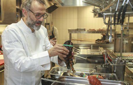 Slavni kuhar ostanke pojedin z olimpijskih iger spreminja v obroke za brezdomce