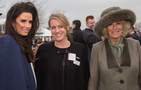 Princ William se je zabaval s hčerko Camille Parker