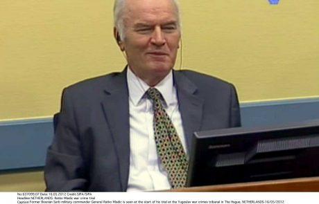 Ratko Mladić aka balkanski klavec: Haaško sodišče bo jutri izreklo sodbo srbskemu vojnemu zločincu