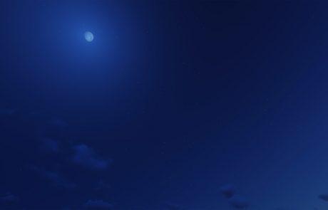 Vreme: Ponoči bo jasno