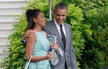 Oboževalci v šoku: Poglejte, kako je danes videti mlajša hčerka Baracka Obame