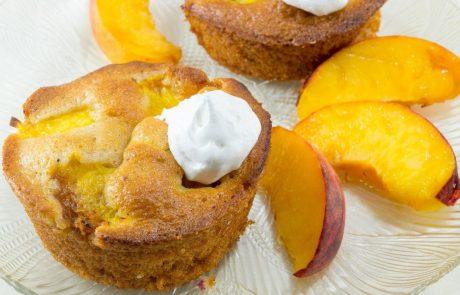 15-minutni recept: Muffini z breskvami