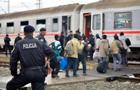 Hrvaški policisti naj bi spolno nadlegovali migrantko