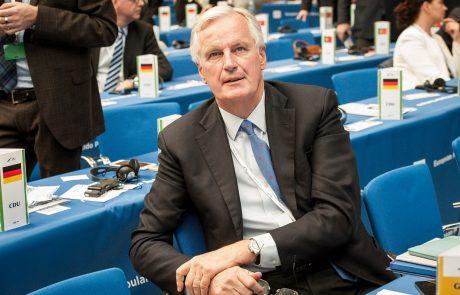 Nekdanji glavni pogajalec EU za brexit Michel Barnier napovedal kandidaturo za francoskega predsednika
