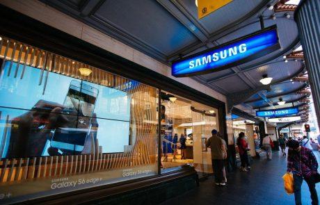 Zaradi padca povpraševanja Samsung s 60-odstotnim padcem dobička
