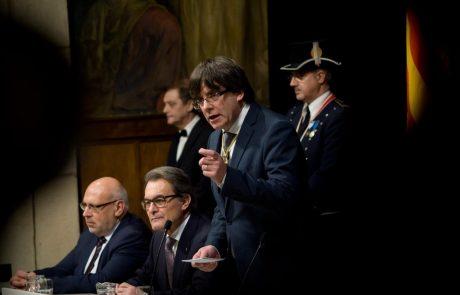 Puigdemont za zdaj ostaja v Belgiji