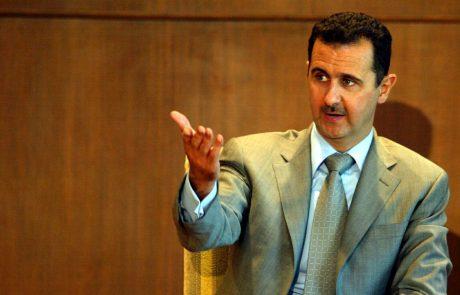 Čeprav je Asad pod ogromnim mednarodnim pritiskom, verjame, da bo Siriji vladal vsaj do leta 2021
