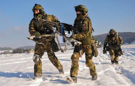 Pripravljenost Slovenske vojske v vojni nezadostna, v miru dobra