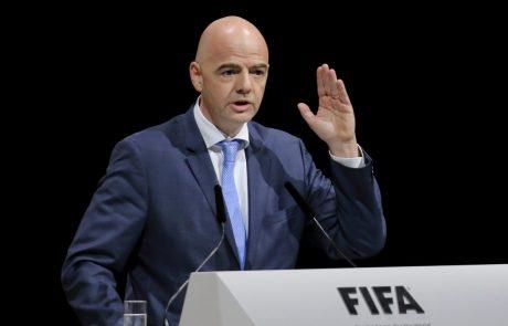 V Švici začeli kazenski postopek proti predsedniku Fife Gianniju Infantinu