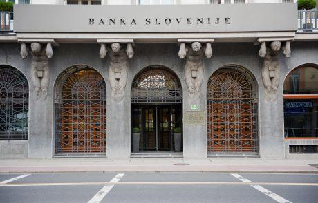 Banka Slovenije: Banke bi v primeru hude recesije imele veliko izgubo