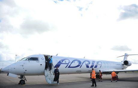 Adria Airways v stečaj, odpovedani vsi leti