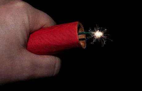 SDS proti popolni prepovedi petard in raket