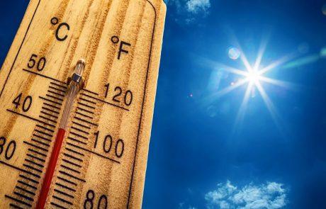 Z visokami temperaturami se bori večji del Evrope