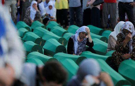 Zaradi prepovedi zanikanja genocida Dodik ponovno grozi z odcepitvijo Republike srbske