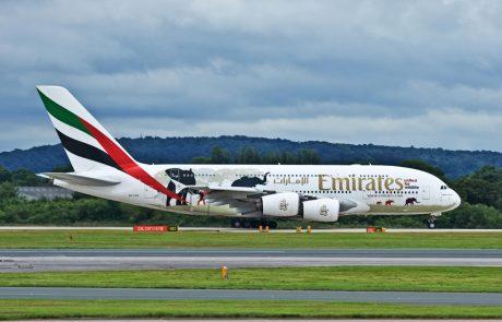 Letalska družba Emirates iz Združenih arabskih emiratov bo 6. aprila začela izvajati omejene letalske povezave