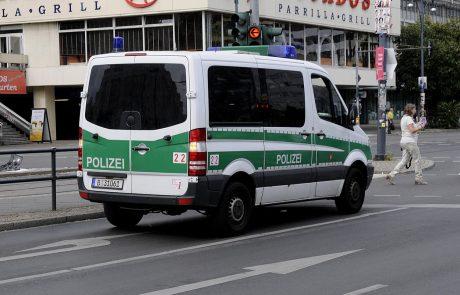 Po izgredih na koronazabavi v Frankfurtu aretirali 39 ljudi, pet policistovpoškodovanih