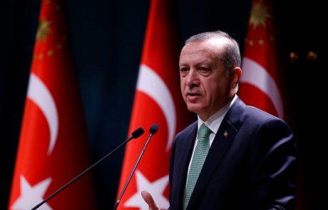 Erdogan zagrozil, da Turčija ne bo ratificirala podnebnega sporazuma