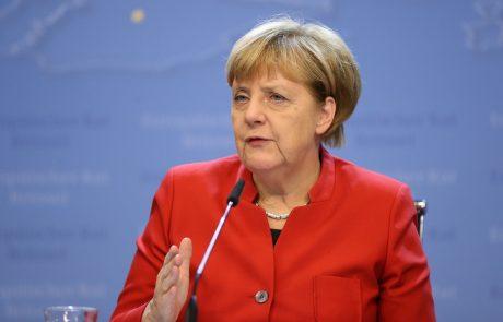 Merklova občinam obljubila milijardo evrov pomoči